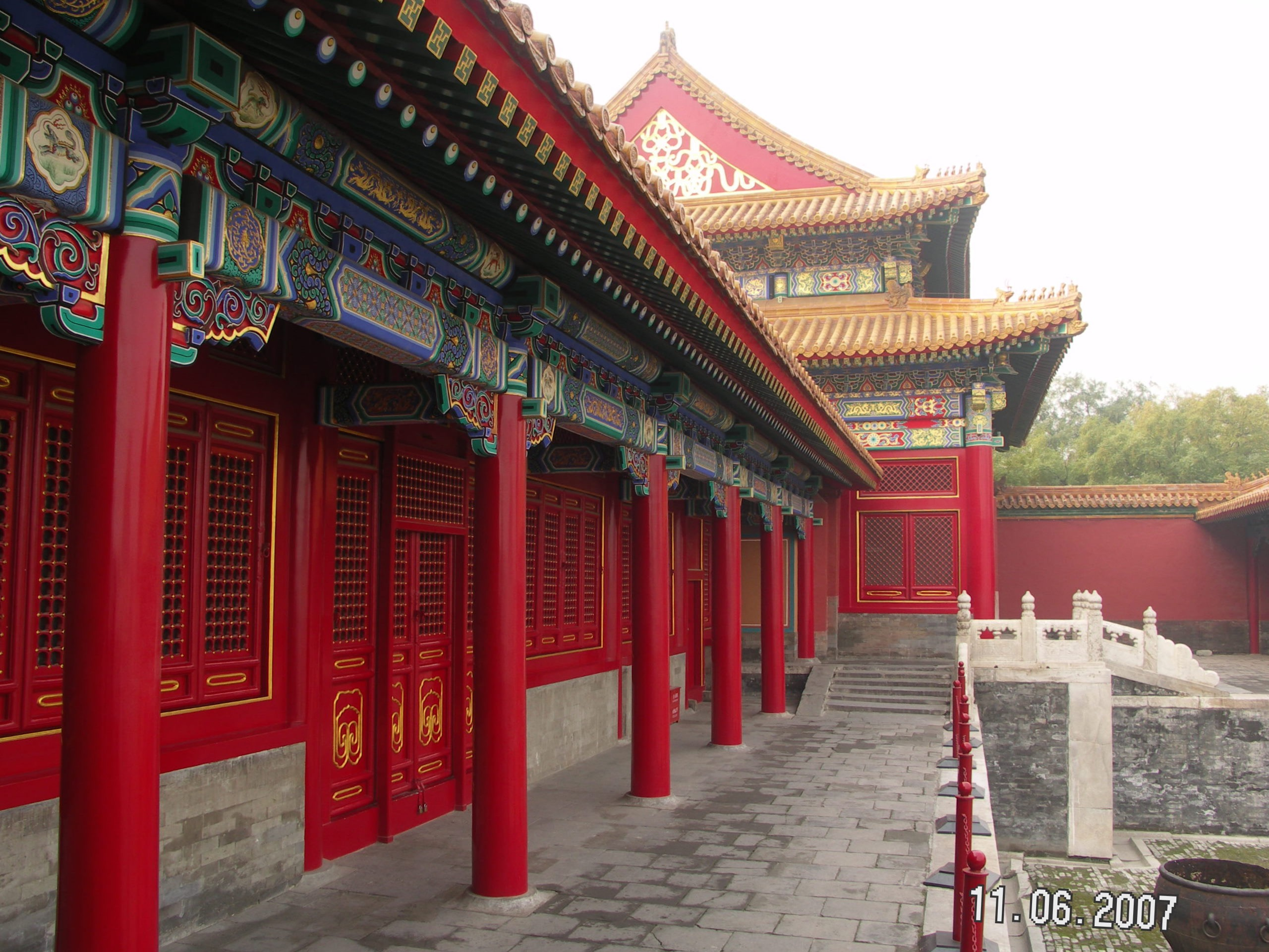 A day in the Forbidden City....how to show the architecture, the colors, the gardens, the bridges...and then the interior rooms all so breathtakingly beautiful?