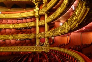 "The Opera House is grand. No other word to describe it! As I looked out over this beautiful theatre, I could only imagine the drama that passed through there over the years----both on and off the stage! It is the stuff of many ""flytes of fancy"" for the likes of me!"
