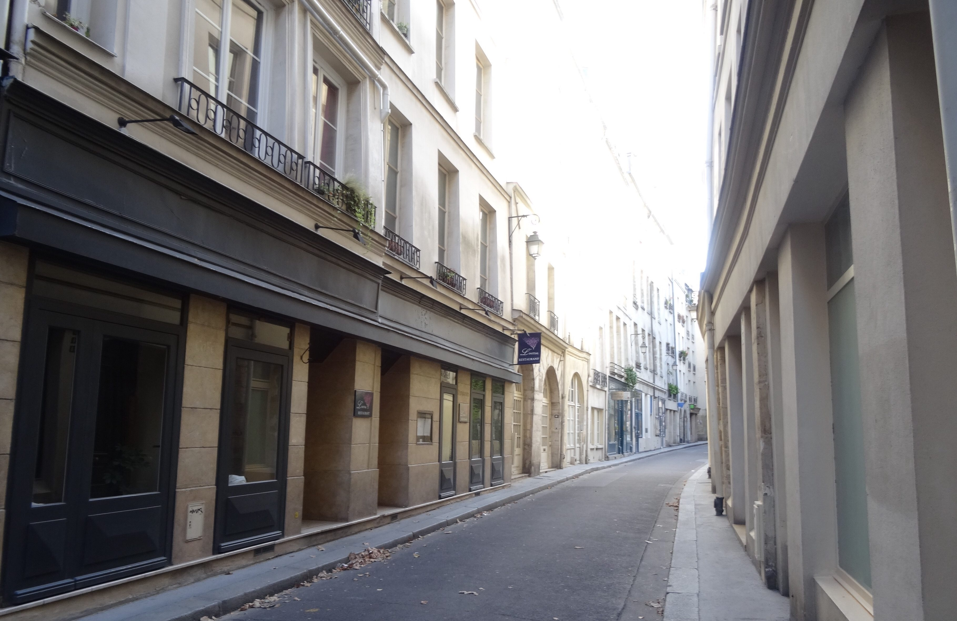 On the street where you live! We rented an apartment in the Latin Quarter, just steps away from Notre Dame. The Rue de Verdon was home for a week and the neighborhood was outstanding.
