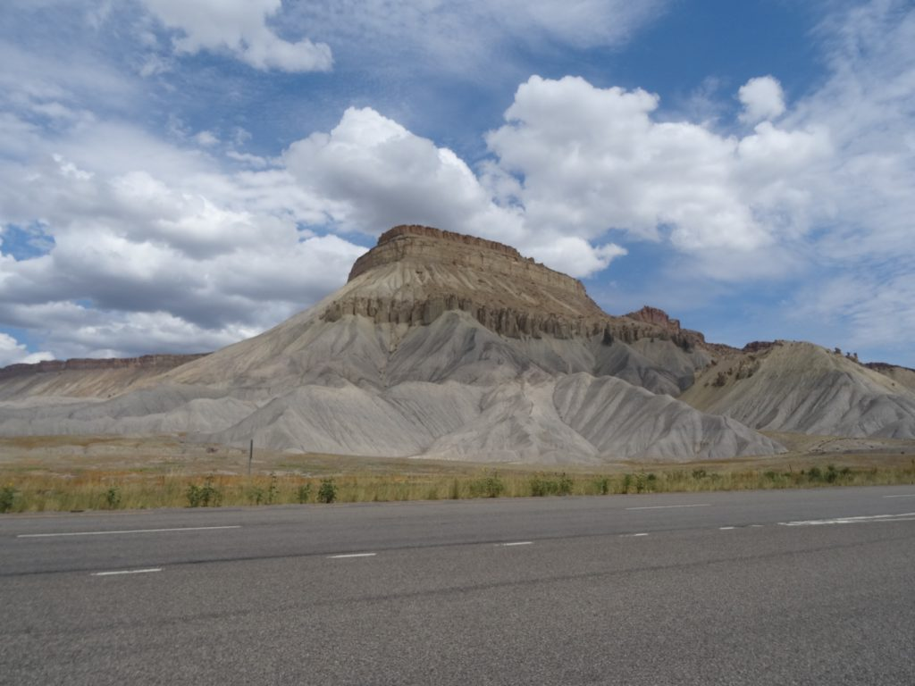 The Book Cliffs of Grand Junction...I love these geological anomolies. They
